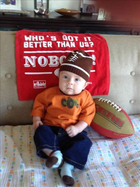 Thanks for showing off your Niner pride! Keep emailing your photos to uReport@kgo-tv.com and we might share them on TV! <span class=meta>(KGO Photo&#47; photo submitted via uReport)</span>