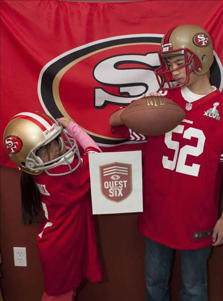 "<div class=""meta image-caption""><div class=""origin-logo origin-image ""><span></span></div><span class=""caption-text"">The 49ers are heading to the NFC Championship game and have lots of support from fans!  Show us your game faces!  Email pics to ureport@kgo-tv.com (KGO Photo/ photo submitted via uReport)</span></div>"