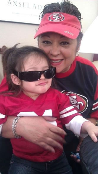 "<div class=""meta ""><span class=""caption-text "">Photo submitted via uReport. Are you a 49ers fan? Send us a photo or video of your 49ers spirit to uReport@kgo-tv.com and we'll post it here: http://bit.ly/WxySUx. (KGO Photo)</span></div>"