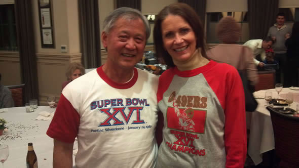 Photo submitted via uReport. Are you a 49ers fan? Send us a photo or video of your 49ers spirit to uReport@kgo-tv.com and we&#39;ll post it here: http:&#47;&#47;bit.ly&#47;WxySUx. <span class=meta>(KGO Photo)</span>