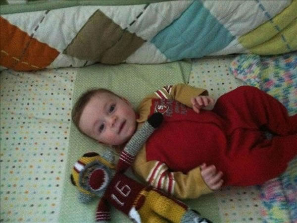 Benny Bertini is getting ready for the big game!! <span class=meta>(Submitted via uReport)</span>