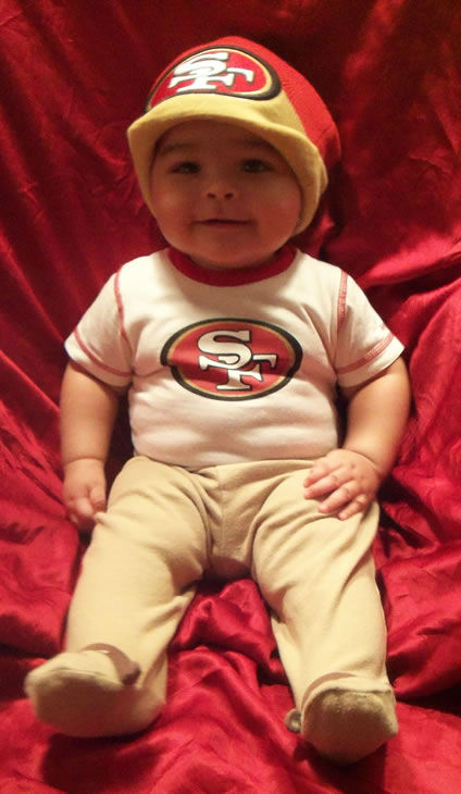4 month old 49er Faithful ? Javan  <span class=meta>(Submitted via uReport)</span>