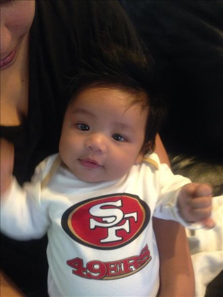 Thanks for showing off your Niner pride! Keep emailing your photos to uReport@kgo-tv.