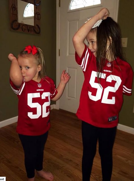 Thanks for showing off your Niner pride! Keep emailing your photos to uReport@kgo-tv.com and we might share them on TV!  <span class=meta>(Photo submitted via Facebook by Krista Gandolfo)</span>