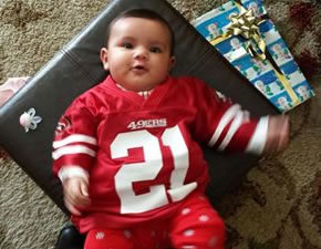 "<div class=""meta image-caption""><div class=""origin-logo origin-image ""><span></span></div><span class=""caption-text""> Thanks for showing off your Niner pride! Keep emailing your photos to uReport@kgo-tv.com and we might share them on TV! (Photo submitted via Facebook)</span></div>"
