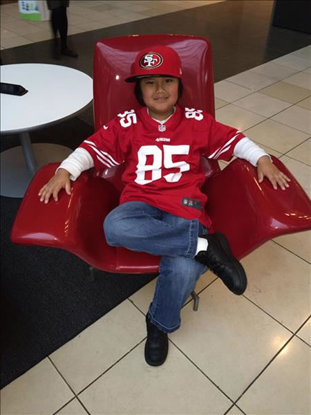"<div class=""meta image-caption""><div class=""origin-logo origin-image ""><span></span></div><span class=""caption-text""> Thanks for showing off your Niner pride! Keep emailing your photos to uReport@kgo-tv.com and we might share them on TV! (Photo submitted via uReport)</span></div>"