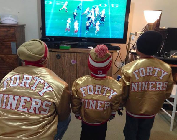 Thanks for showing off your Niner pride! Keep emailing your photos to uReport@kgo-tv.com and we might share them on TV! <span class=meta>(Photo submitted via Facebook)</span>