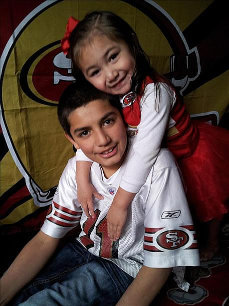 Submitted by Ray Cora via uReport.  Are you a 49ers fan? Send us a photo or video of your 49ers spirit to uReport@kgo-tv.com and we'll post it here: http://bit.ly/WxySUx.