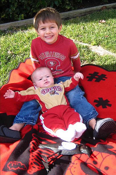 Photo submitted via uReport. Are you a 49ers fan? Send us a photo or video of your 49ers spirit to uReport@kgo-tv.com and we'll post it here: http://bit.ly/WxySUx.