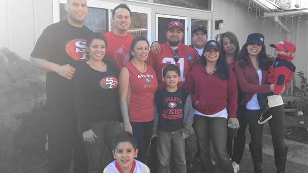 Group of 49ers fans (Submittedby via uReport)