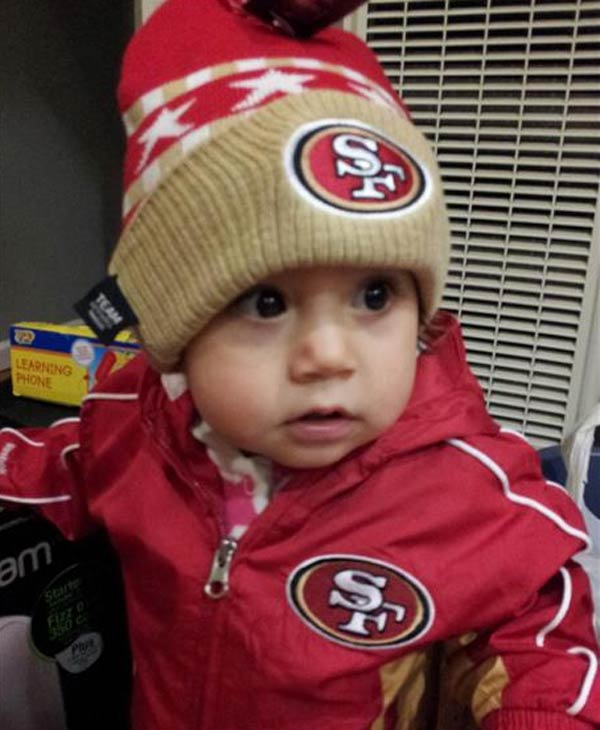 Amarissa is ready for the game! (Submitted via uReport)