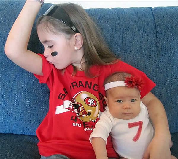 Group of 49ers fans (Submitted via uReport)