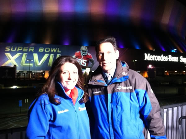 @LarryBeilABC7 and @KatieABC7before going on air.