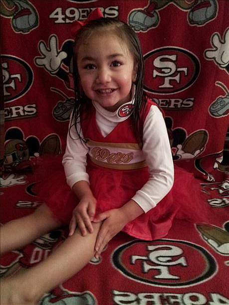 Submitted by Tiana Rael via uReport. Are you a 49ers fan? Send us a photo or video of your 49ers spirit to uReport@kgo-tv.com and we'll post it here: http://bit.ly/WxySUx.