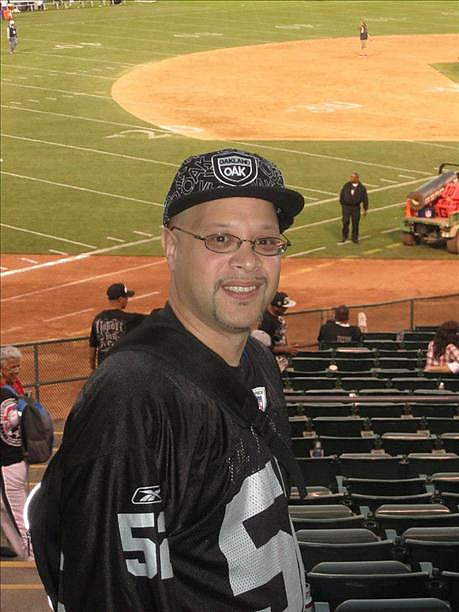 Photo submitted by Paul De La Vega via uReport (Are you a Raiders fan? Send us a photo or video of your Raiders spirit to uReport@kgo-tv.com and we'll post it here: http://bit.ly/WxySUx.)