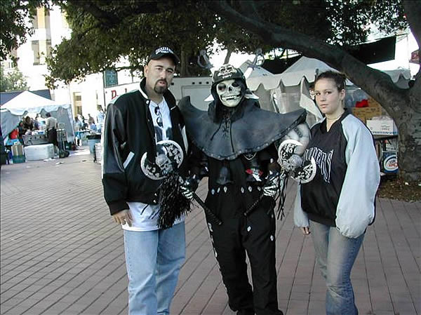 Photo submitted by DJ Ray via uReport (Are you a Raiders fan? Send us a photo or video of your Raiders spirit to uReport@kgo-tv.com and we'll post it here: http://bit.ly/WxySUx.)