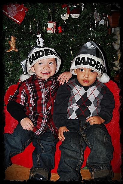 Photo submitted by Ginasled via uReport  (Are you a Raiders fan? Send us a photo or video of your Raiders spirit to uReport@kgo-tv.com and we'll post it here: http://bit.ly/WxySUx.)