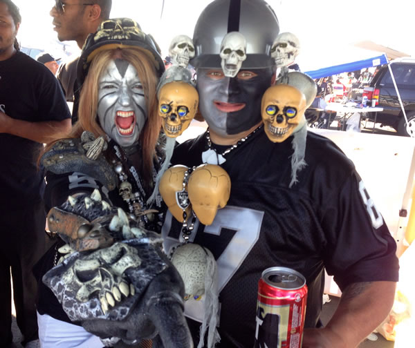 Photo submitted by Ask4dug via uReport  (Are you a Raiders fan? Send us a photo or video of your Raiders spirit to uReport@kgo-tv.com and we'll post it here: http://bit.ly/WxySUx.)