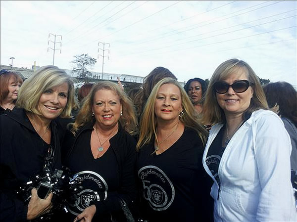 These are Raiderette Reunion pictures. Photo submitted via uReport (Are you a Raiders fan? Send us a photo or video of your Raiders spirit to uReport@kgo-tv.com and we'll post it here: http://bit.ly/WxySUx.)
