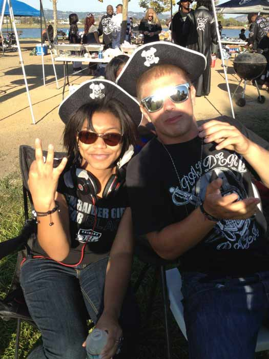 Photo submitted via uReport  (Are you a Raiders fan? Send us a photo or video of your Raiders spirit to uReport@kgo-tv.com and we'll post it here: http://bit.ly/WxySUx.)