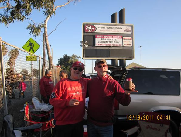 Tailgating. (Photo submitted via uReport)