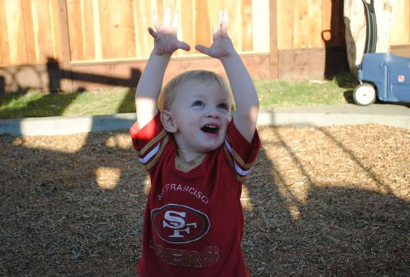 Touchdown 49ers! (Photo submitted by PacificaFitz via uReport)