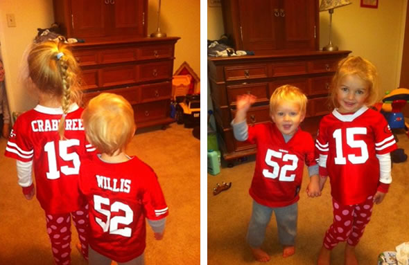 Go Niners!! (Photo submitted by jelk via uReport)