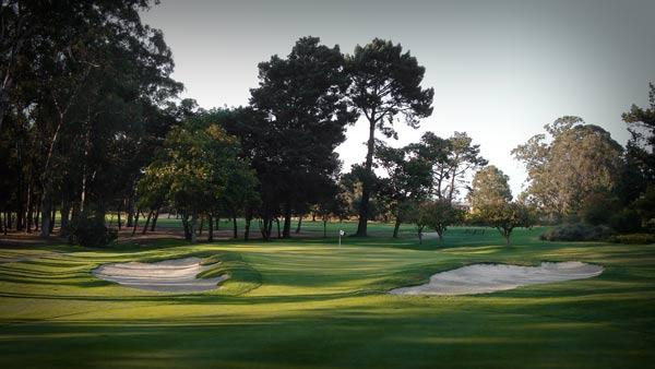 The 163 yard, par 3, 11th, is Richmond's easiest hole