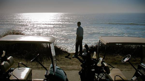 Ponder the ocean on the back nine, or, if your round went badly, leap