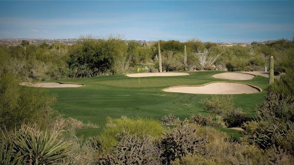 Desert Forest par 3 17th
