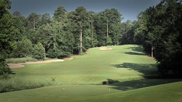 Par-4 1st at Dancing Rabbit Azalea