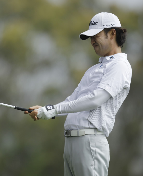 Kevin Na during the first round of the U.S. Open Championship golf tournament Thursday, June 14, 2012, at The Olympic Club in San Francisco. (AP Photo/Ben Margot)