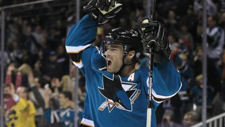 San Jose Sharks left wing Patrick Marleau