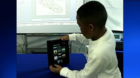 Apple, Google and Microsoft were all in Sacramento Wednesday, showing off their high tech tools for the classroom.