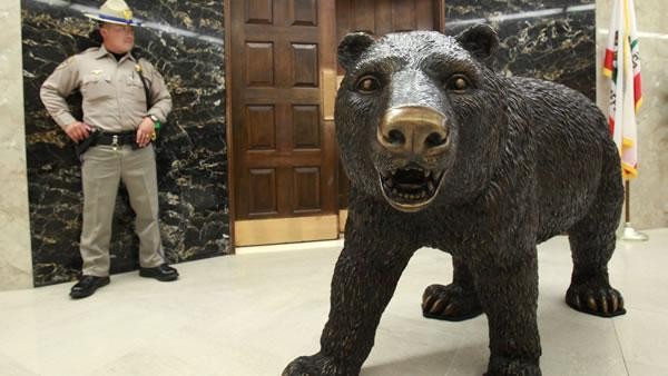 Future of popular bear statue in question