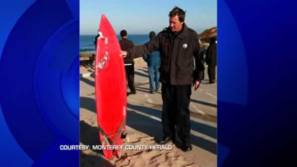Surfer hospitalized after shark attack on Saturday