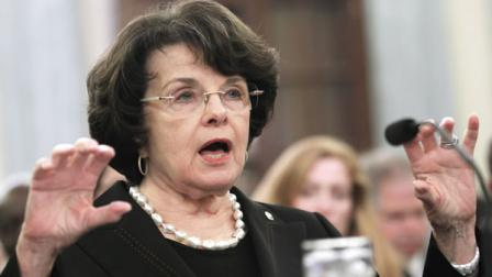 Sen. Dianne Feinstein, D-Calif. testifies on Capitol Hill in Washington Tuesday Oct. 18, 2011.
