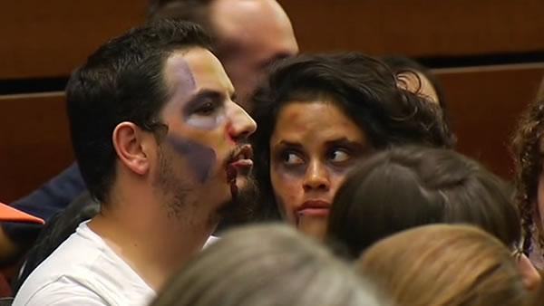 Zombies protest tuition hikes at UC regents meeting