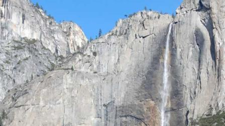 The waterfalls are flowing once again in Yosemite National Park.