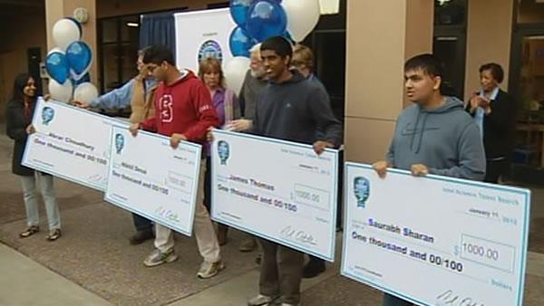 29 Bay Area students named Intel Prize semifinalists
