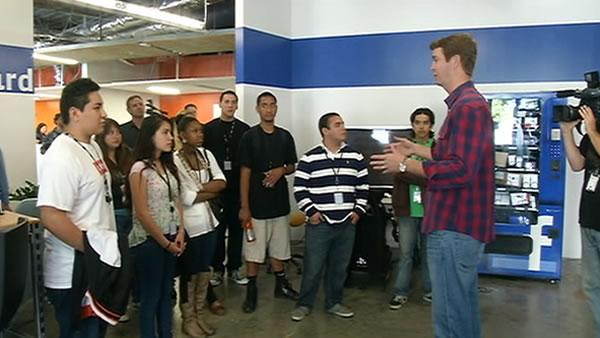 Bay Area teens get summer internships at Facebook