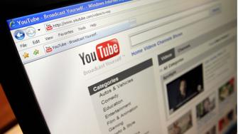This file image made March 18, 2010, shows the YouTube website in Los Angeles.