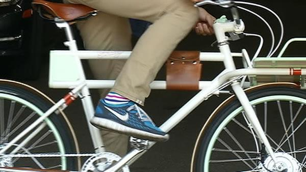 Inventor hopes Faraday bicycle strikes compromise