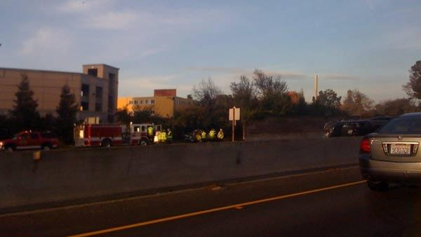 Accident on 101 at University Avenue