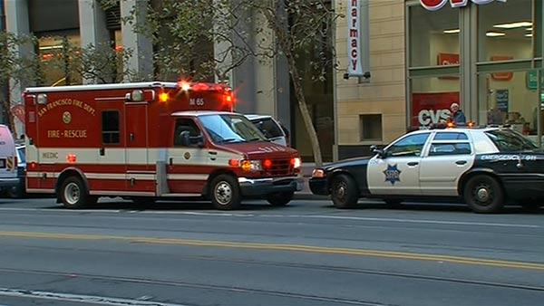 Muni service resumes after man fatally struck