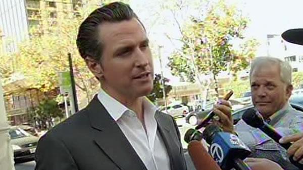 Lt. Gov. Newsom says a BART deal may be close