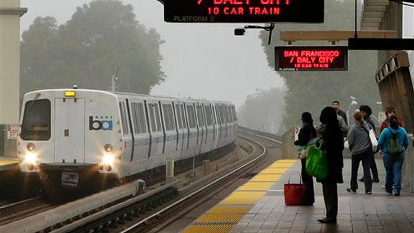 Riders happy to be back on BART