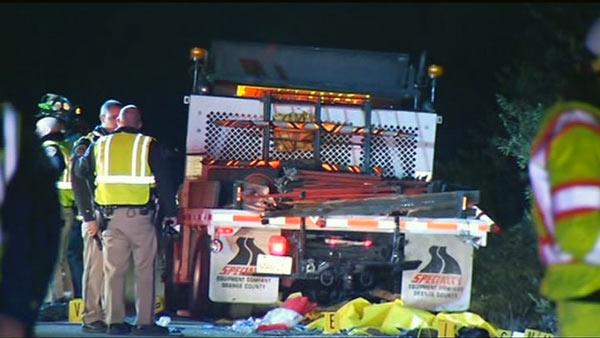 DUI investigation after worker fatally struck on I-680