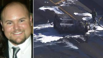 EMT Reed Whittaker was killed in a fiery crash caused by a suspected drunk driver