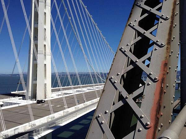 Photo of new Bay Bridge